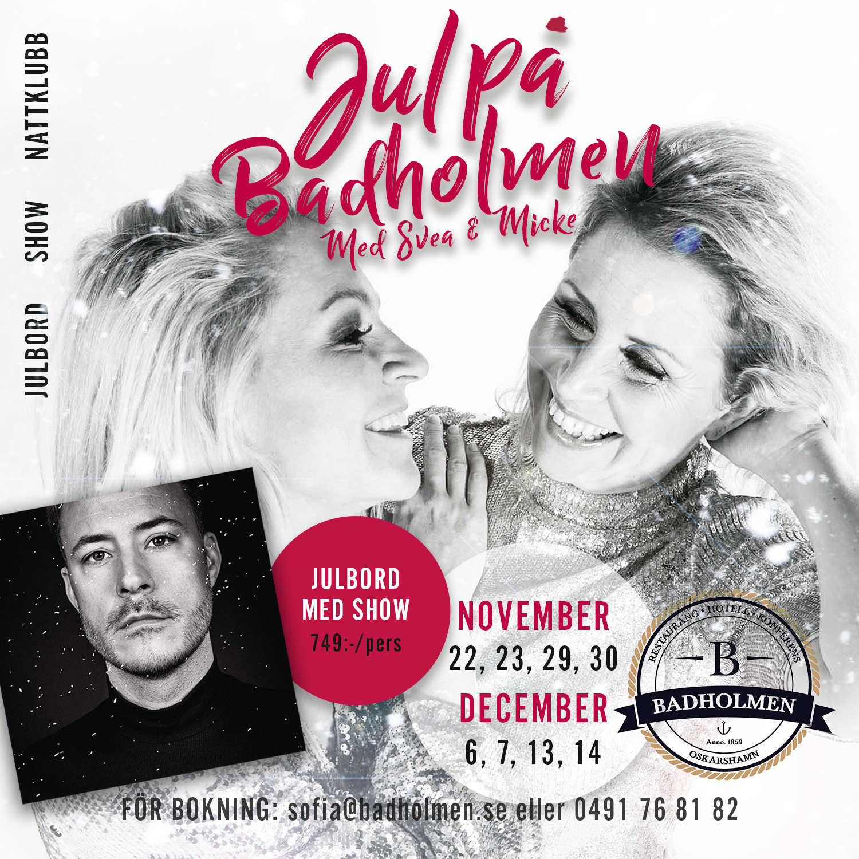 Badholmen, Oskarshamn Julbord 2019