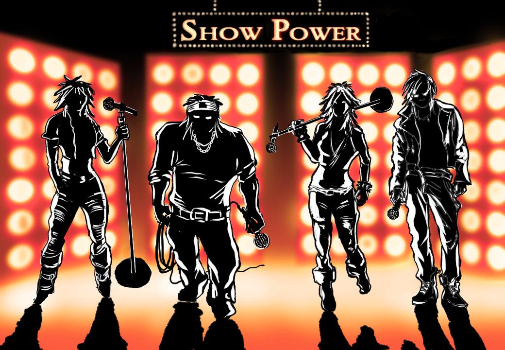 Hela våren 2016 spenderas med att producera nya shower.